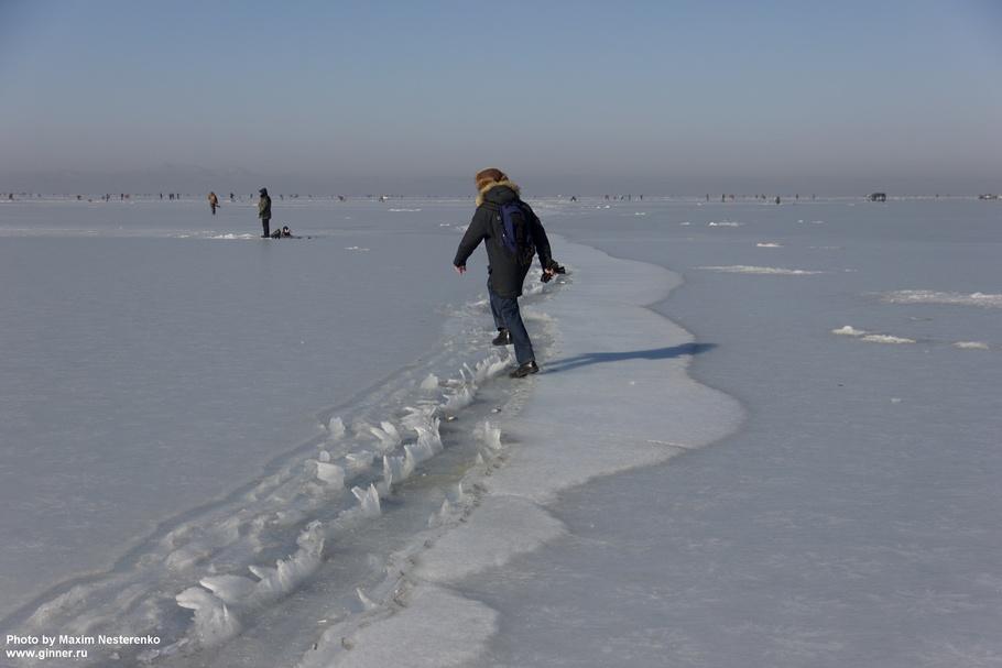 Прогулка на Песчаный