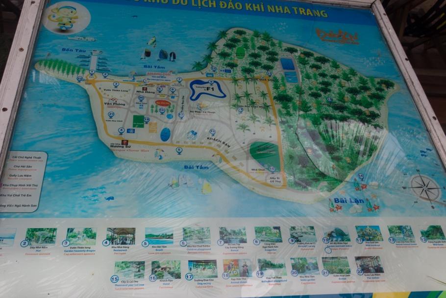 Северные острова бухты Ня Фу